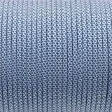 Паракорд. Paracord Type III 550, white blue snake #338