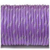 Паракорд. Paracord Type III 550, reflective (светоотражающий) purple #r3026