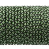Paracord 100, emerald green snake #265-2