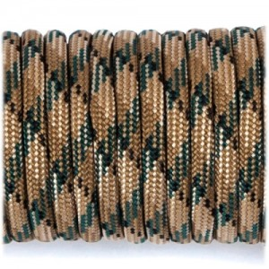 Паракорд. Paracord Type III 550, coyote brown camo #067