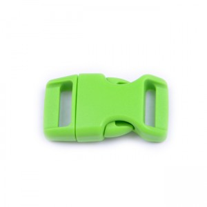 """5/8"""", fluor green, фастекс пластиковый"""