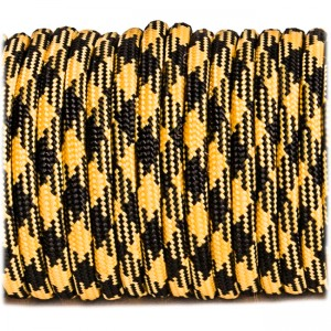 Паракорд. Paracord Type III 550, bumble bee #100