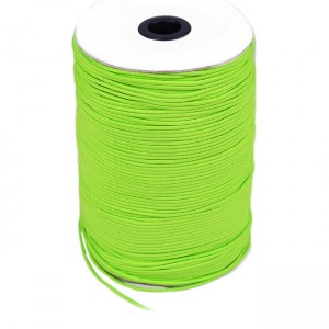 Paracord 100, fluo green #017-2