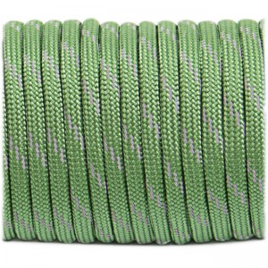 Паракорд. Paracord Type III 550, reflective (светоотражающий) moss #r3331