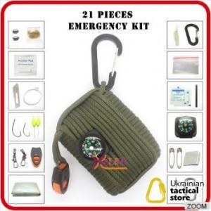 EDC Набор для выживания из паракорда