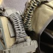 Ручка рюкзака обплетена паракордом