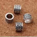 Цилиндр тибетский, античное серебро