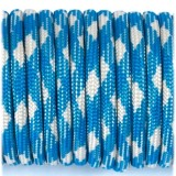 Паракорд. Paracord Type III 550, blue white #074