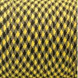 Паракорд. Paracord Type III 550, black yellow camo #043