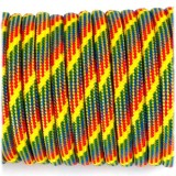 Паракорд. Paracord Type III 550, rainbow rain #093