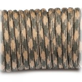 Паракорд. Paracord Type III 550, grey beige camo #036