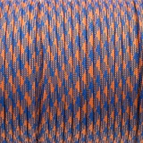 Паракорд. Paracord Type III 550, blue orange camo #124