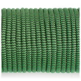 Паракорд. Paracord Type III 550, black green wave #132