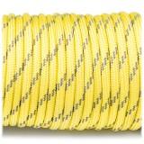 Paracord 550, reflective X3 yellow #r3019 (светоотражающий)