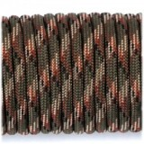Паракорд. Paracord Type III 550, army green camo #004