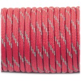 Паракорд. Paracord Type III 550, reflective (светоотражающий) crimson #r3324