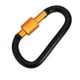 Карабины с резьбовой муфтой, black+orange