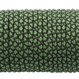 Paracord 275 (2,2mm), green snake #265-2