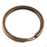 Кольцо для ключей, бронза 25 мм