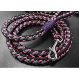 Поводок из паракорда v4 (Purple)