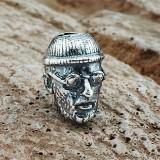 """Бусина """"Леон"""", ручное литье, с серебряным покрытием"""