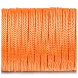 Coreless Paracord, orange yellow #044-H, (полый шнур)