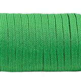 Coreless paracord, Green #025-H, (полый шнур)