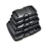 """2"""", черный, фастекс пластиковый под ременную ленту 50 мм"""