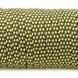 Coreless Paracord, yellow snake #271-H, (полый шнур)