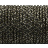 Paracord 275 (2,2mm), black snake #308-2