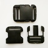 Фастекс 40 мм пластиковый, усиленный, черный
