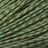 Minicord. Paracord 100 Type I (1.9 mm), o.d. moss#346-type1