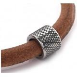 Бусина Rondelle цилиндр, нержавеющая сталь