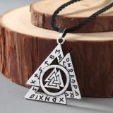 Подвес рунический, символ Викинга. Металл. Цвет: Золото и серебро