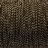 Micro cord (1.4 mm), coyote brown snake #310-1