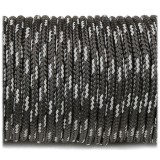 Minicord Reflective. Paracord 100 Type I (1.9 mm), black #R3016-type1