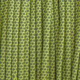 Paracord 550, super reflective 50/50 snake green pastel #r16421S (светоотражающий)
