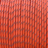 Minicord Reflective. Paracord 100 Type I (1.9 mm), sofit orange  #R2345-type1