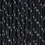 Paracord 275 (2,2mm), reflective X1 black r1016-2 (светоотражающий)