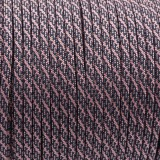 Paracord Type III 550,  light pink/ navy blue  PATTERN #438 (NR097|038)