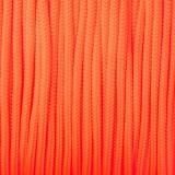 Minicord. Paracord 100 Type I (1.9 mm), sofit orange #345-type1