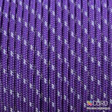 Minicord Reflective. Paracord 100 Type I (1.9 mm), purple #R2026-type1
