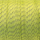 Minicord Reflective. Paracord 100 Type I (1.9 mm), green pastel #R2421-type1