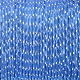 Minicord Reflective. Paracord 100 Type I (1.9 mm), simple blue #R2001-type1