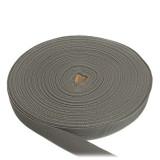 Лента ременная, 25 мм, серая, полиамидная