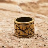 Бусина Rondelle Камень, ручное литье