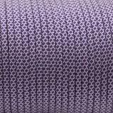 Paracord 550, white purple diamond #453D (007+026)