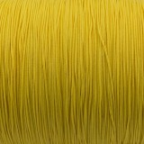 Micro cord (1.4 mm), yellow pastel #419-1