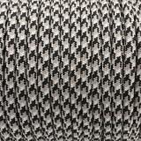 PPM cord 6 mm, COLOR #17 BLACK/GREY/WHITE BRAID-PPM6