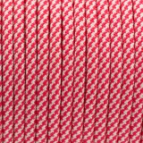 PPM cord 6 mm, COLOR #5 WHITE/RED CANDY-PPM6